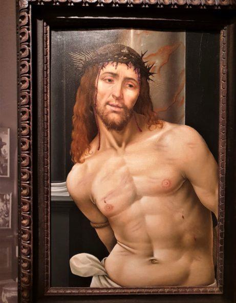 Cristo alla colonna di Scuola lombarda (forse Andrea Solario), 1510 ca, da Agnews