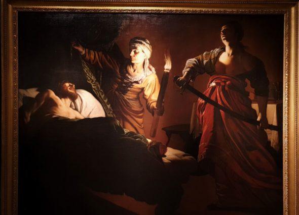 Giuditta in preghiera prima di uccidere Oloferne, 1611-12, da Didier Aaron