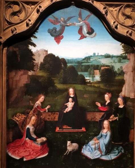 Vergine con Bambino di Adriaen Isenbrant da De Jonckheere
