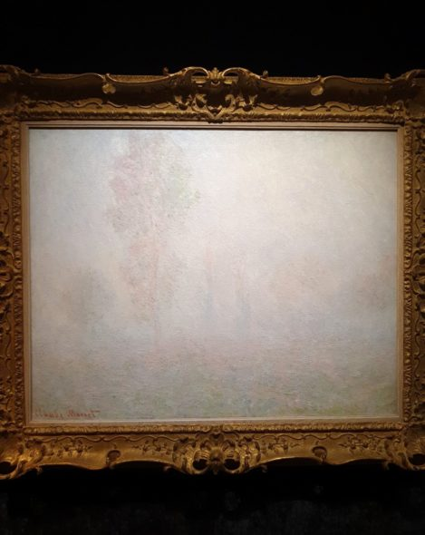 Monet, Brouillard a Giverny di Richard Green