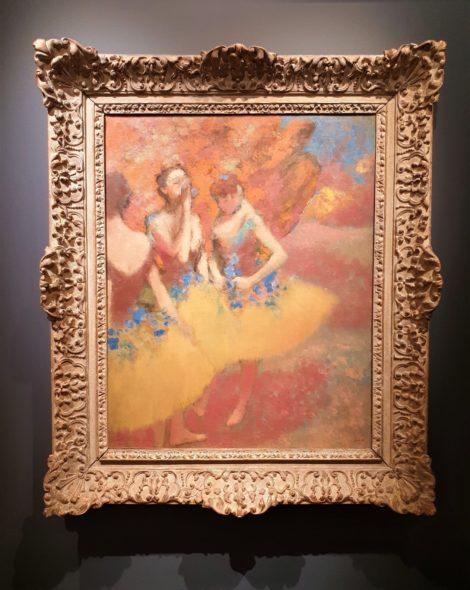 Prima volta in 50 anni per le Tre ballerine con gonna gialle (1891 ca) di Degas da Hammer Galleries