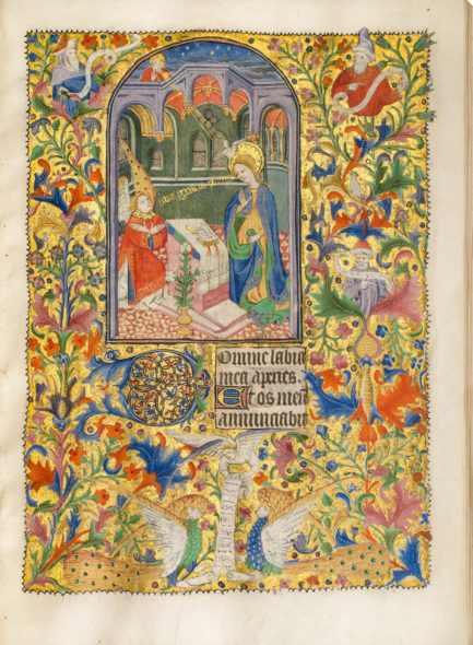Cirle of the Bedford/Dunois Masters: Talbot-Beauchamp Book of hours, Illuminated manuscript on vellum, 22.1 x 15.5 cm (8.7 x 6.1 in.). Rouen - circa 1430. Dr. Jörn Günther Rare Books Ag