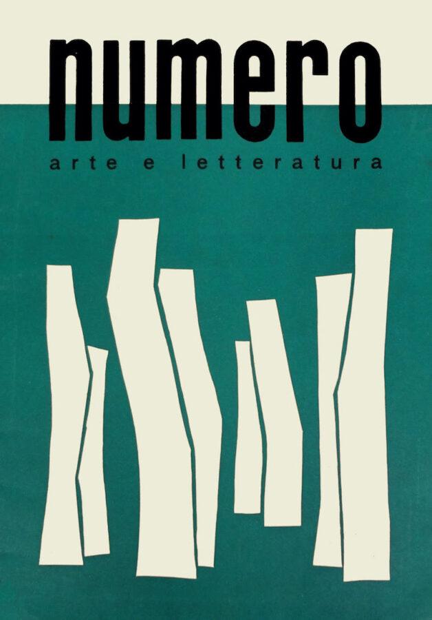 Copertina di Numero no. 2 Settembre 1952 Anno IV - Serie III. 34 x 24 cm. Courtesy Fondazione Bonotto.