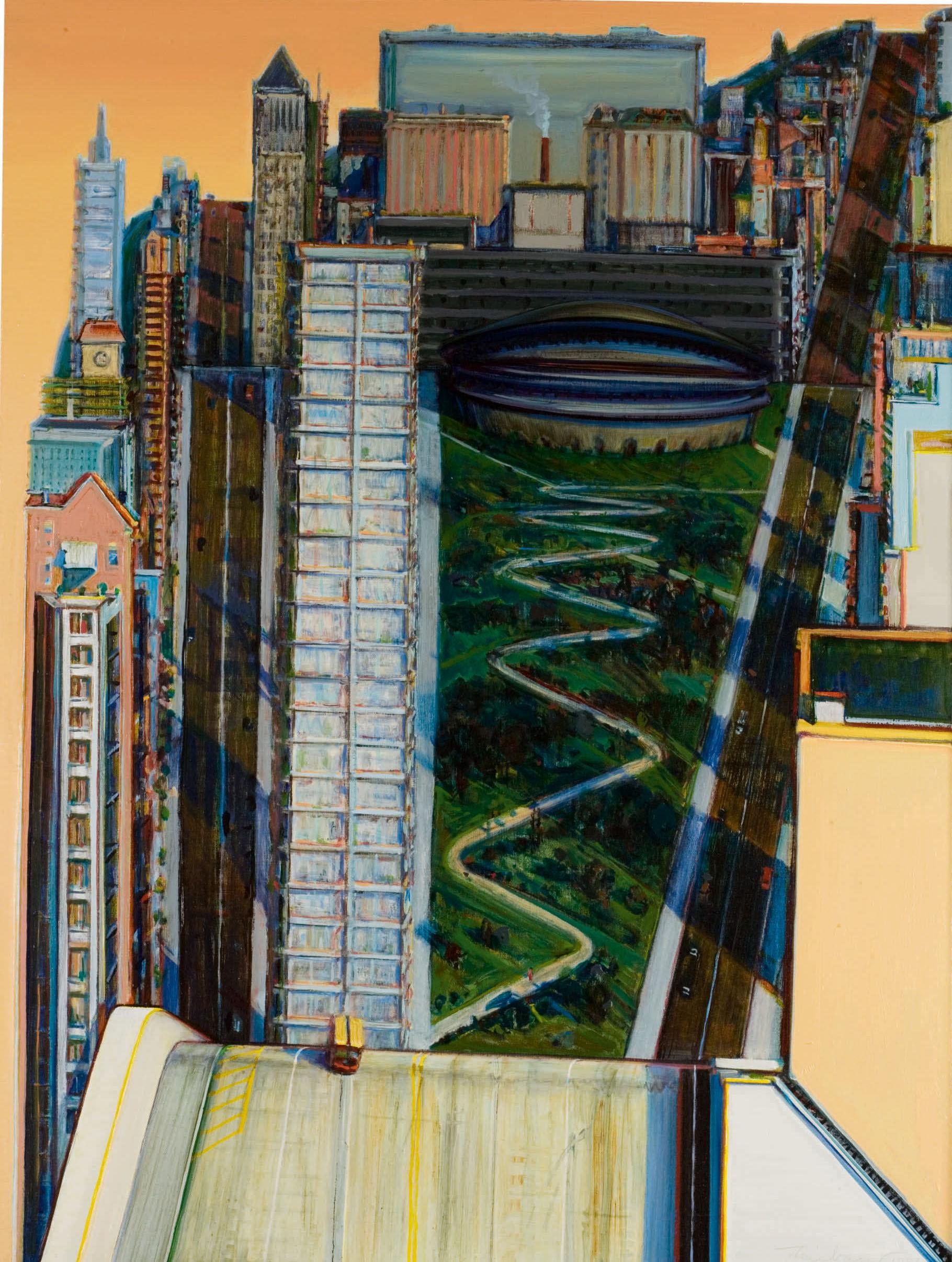 Trio di paesaggi californiani di Wayne Thiebaud a oltre 5 milioni da Sotheby's