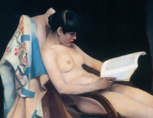Immagine di copertina - Theodore Roussel, The reading girl (1887, olio su tela, 152 x 161 cm)