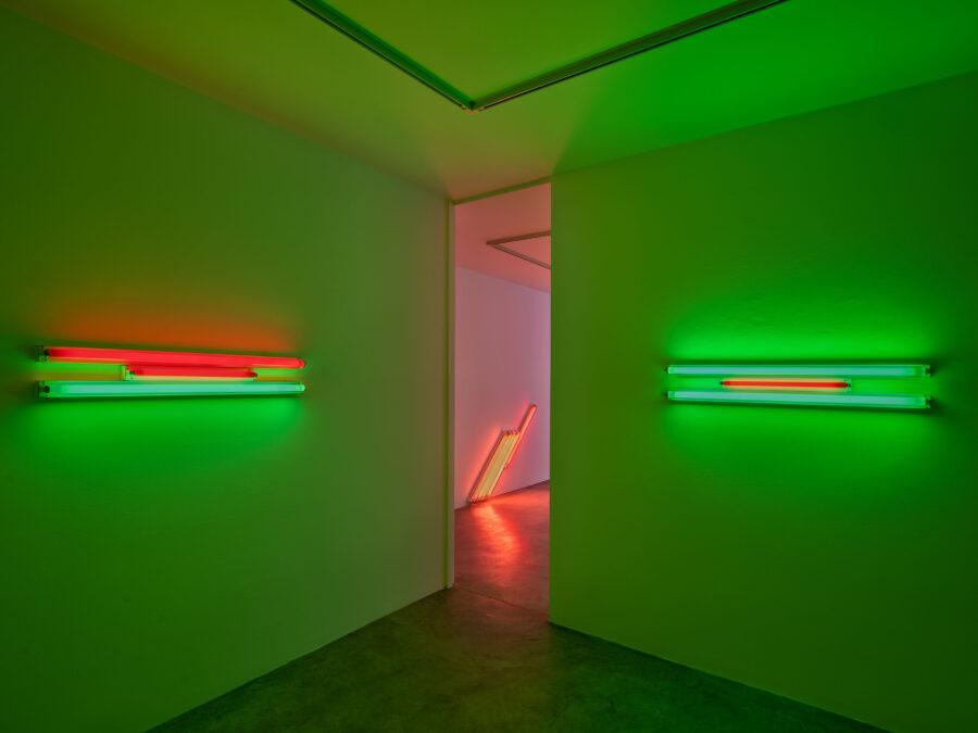 Dan Flavin febbraio – luglio 2019 Installation view Cardi Gallery Milan Ph Carlo Vannini