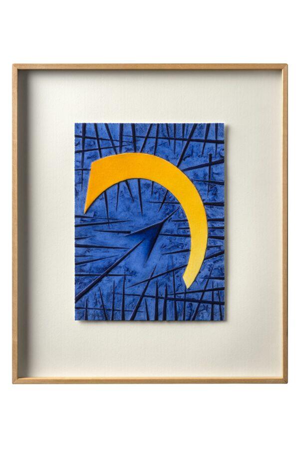 104 Blu, Arnaldo Pomodoro