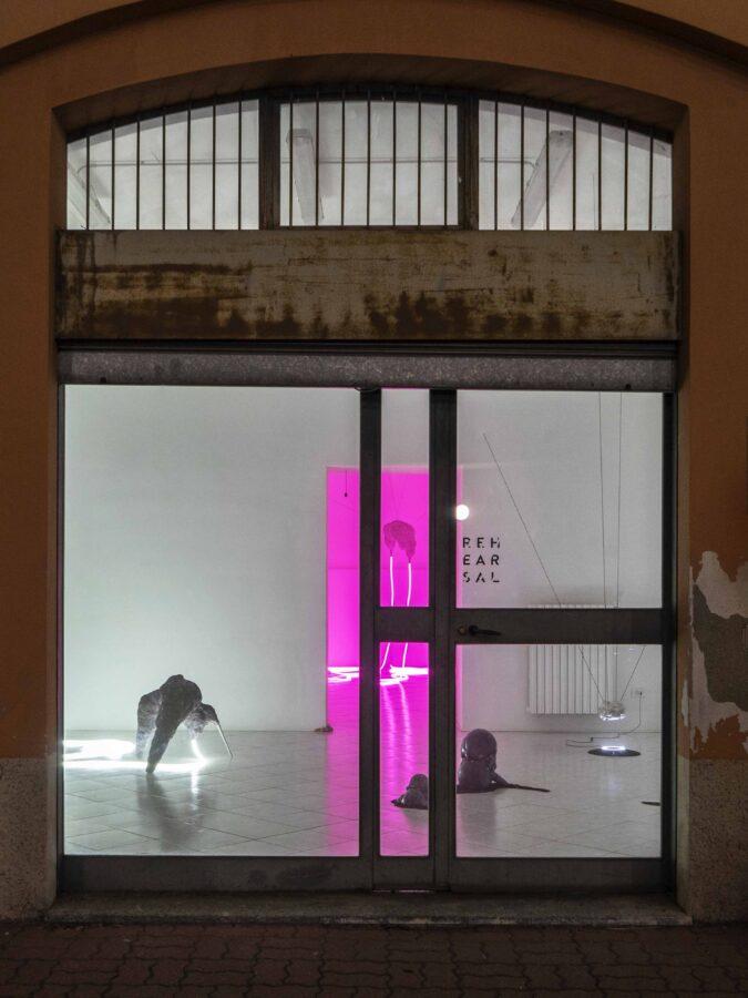 Fishy fishy fishy X, mostra personale presso Rehearsal, Milano, 2019