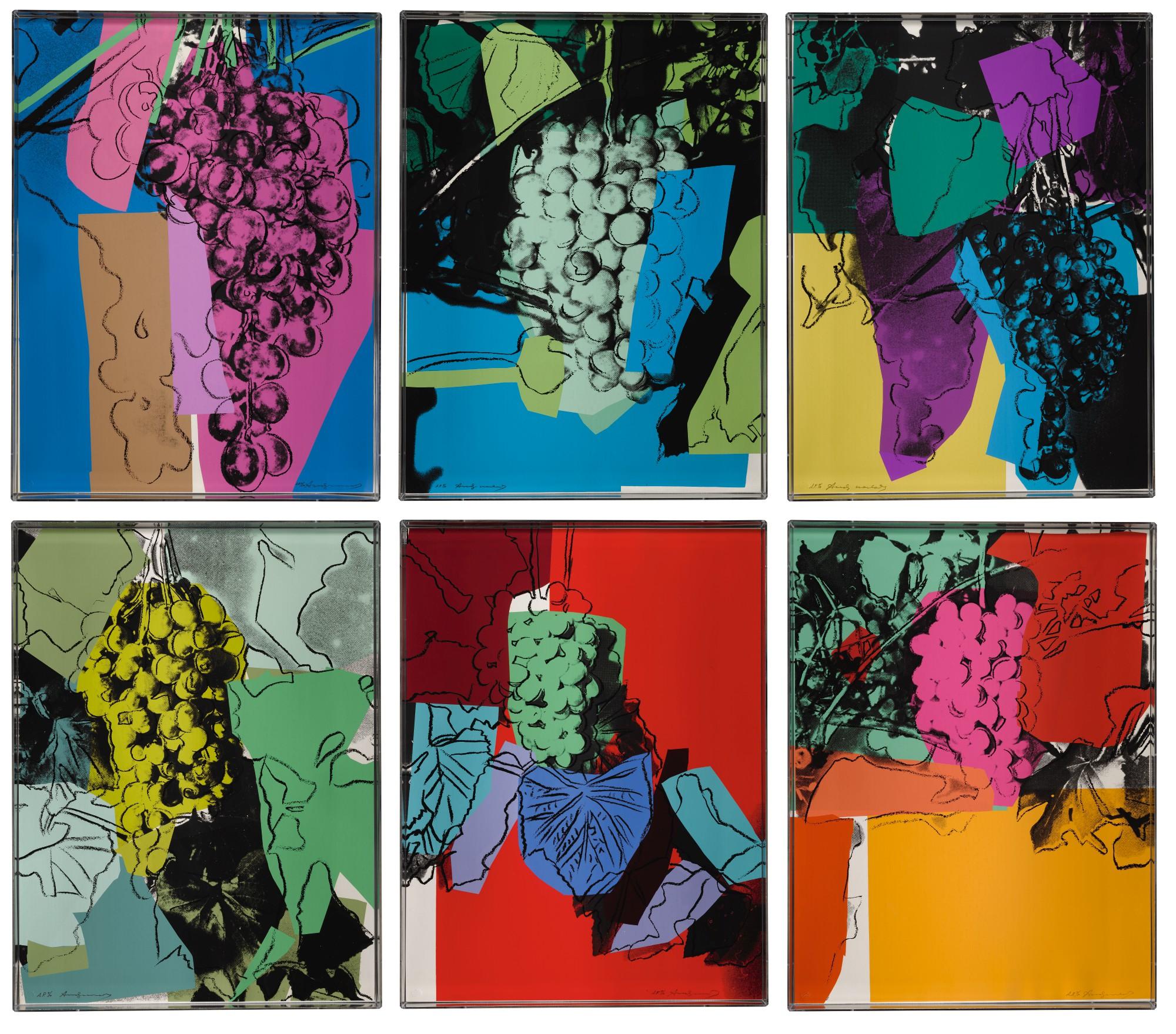 L'uva dorata di Andy Warhol. Battuta da Sotheby's a 375 mila dollari