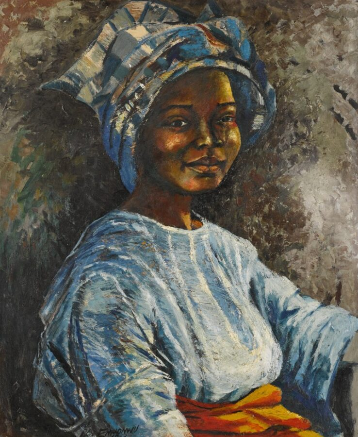 Asta Sotheby's arte africana 2020 Ben Enwonwu, Sefi, 1953