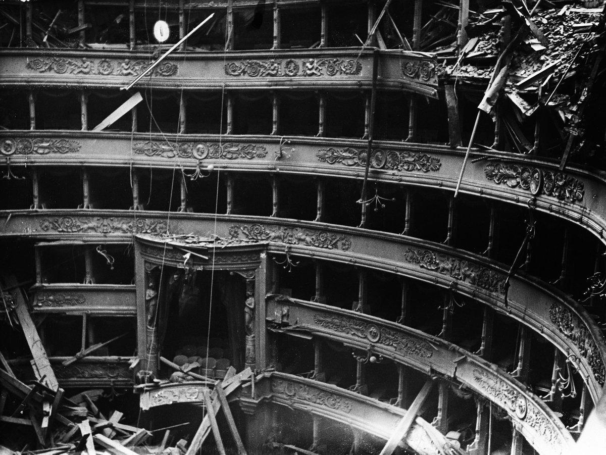 La ricostruzione, la cultura e le librerie. La realtà e che siamo senza un immaginario futuro