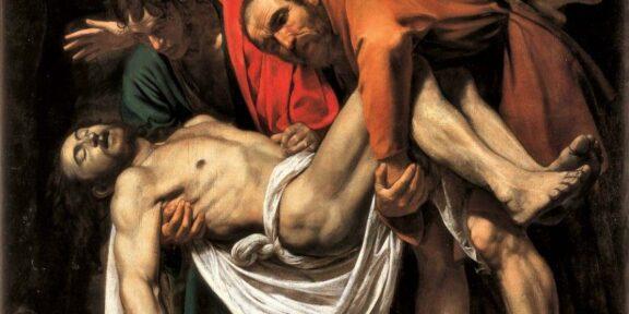 Claudio Strinati in #Maestri parla di Caravaggio. Deposizione