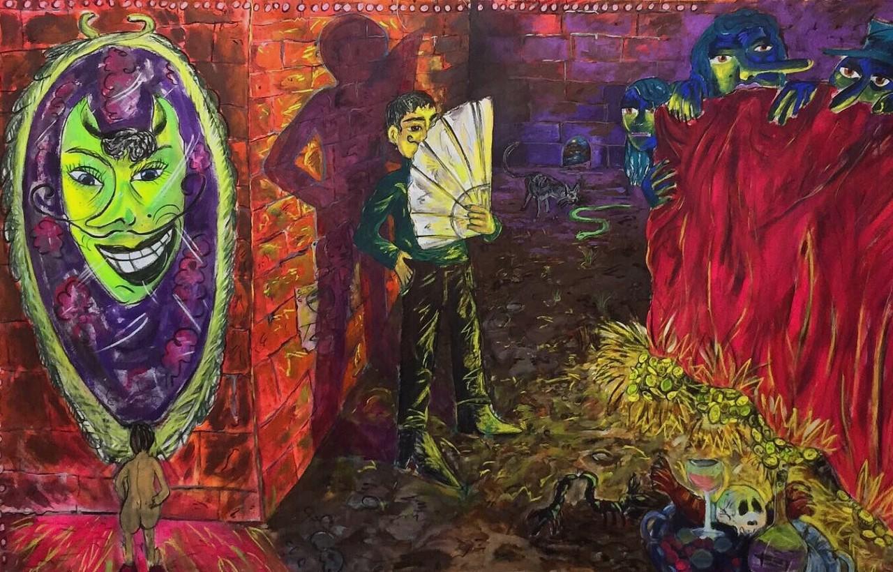 Arte balsamo della psiche. La quarantena degli artisti, Andrea Fiorino