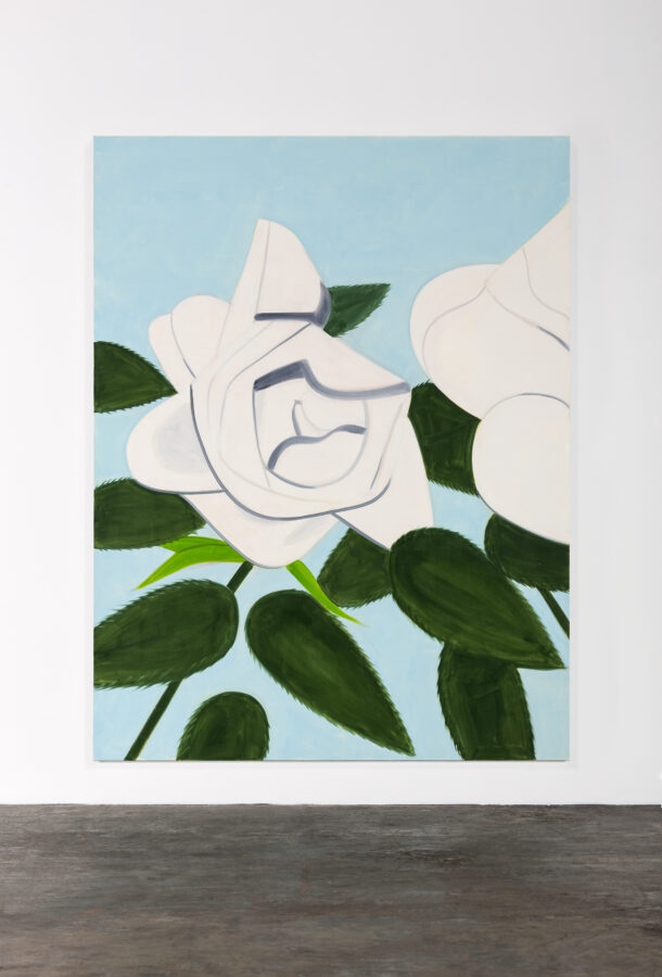 Gavin Brown - Alex Katz, White Rose