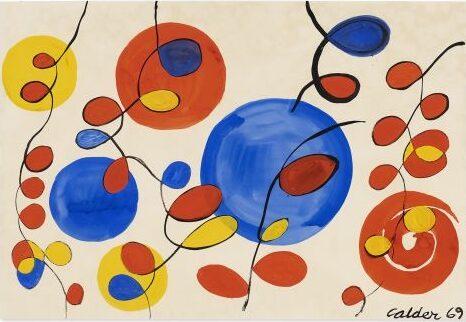 Christie's online Alexander Calder, Big Blue Spheres and Loops