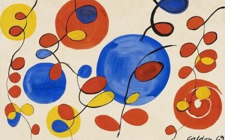 Christie's online Alexander Calder, Big Blue Spheres and Loops