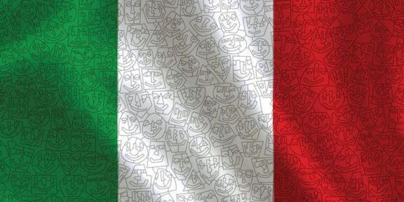 Il tricolore firmato Ugo Nespolo in omaggio con il Corriere della Sera