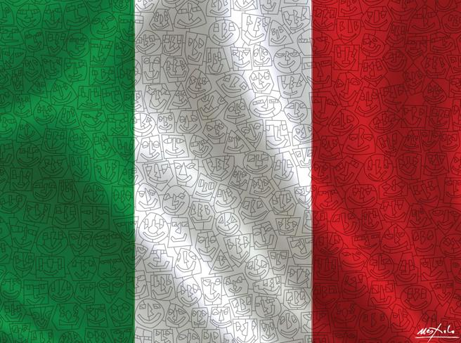 Bandiera d'autore. Il Corriere regala il Tricolore firmato da Ugo Nespolo