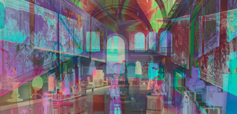 James Welling, Morgan Great Hall, 2015