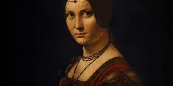 Leonardo Da Vinci, Belle Ferronnière, 1490-1495