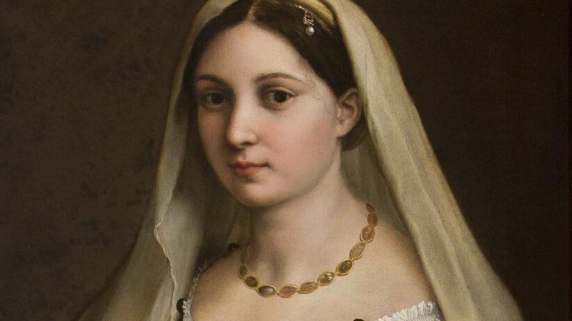 Ritratto di donna (La Velata), Raffaello