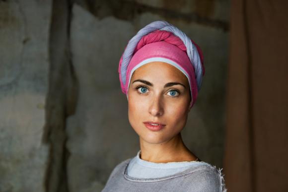 volto di donna italiana