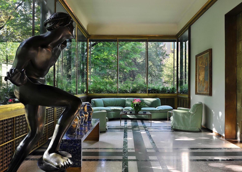 Villa Necchi Campiglio: viaggio virtuale tra arredi déco e opere d'arte