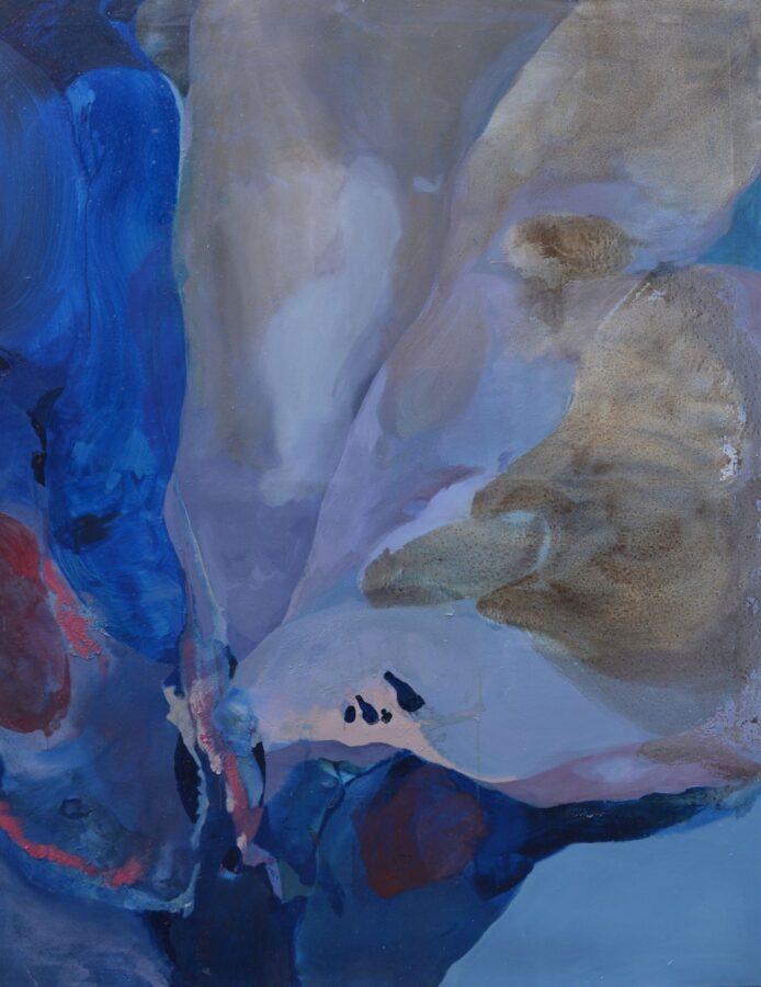 Beatrice Gelmetti, Lepidottero, 2019, olio su tela, 130x170cm