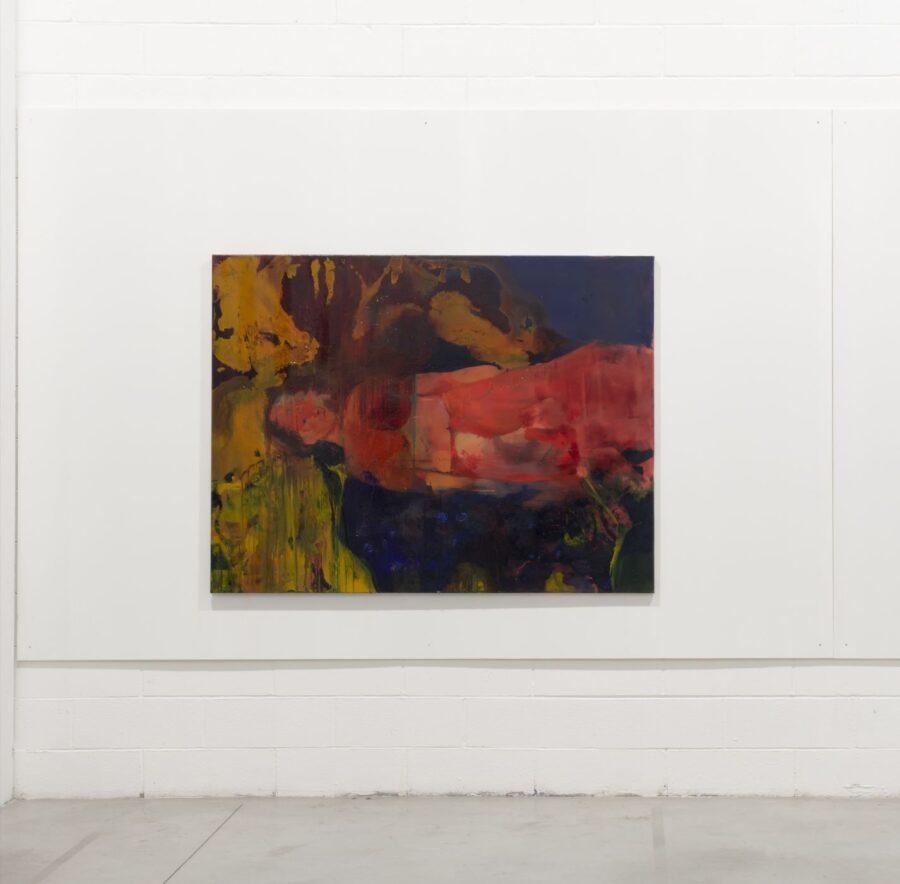 Sul letto dei fiumi, 2019, olio su tela, 170x130cm.
