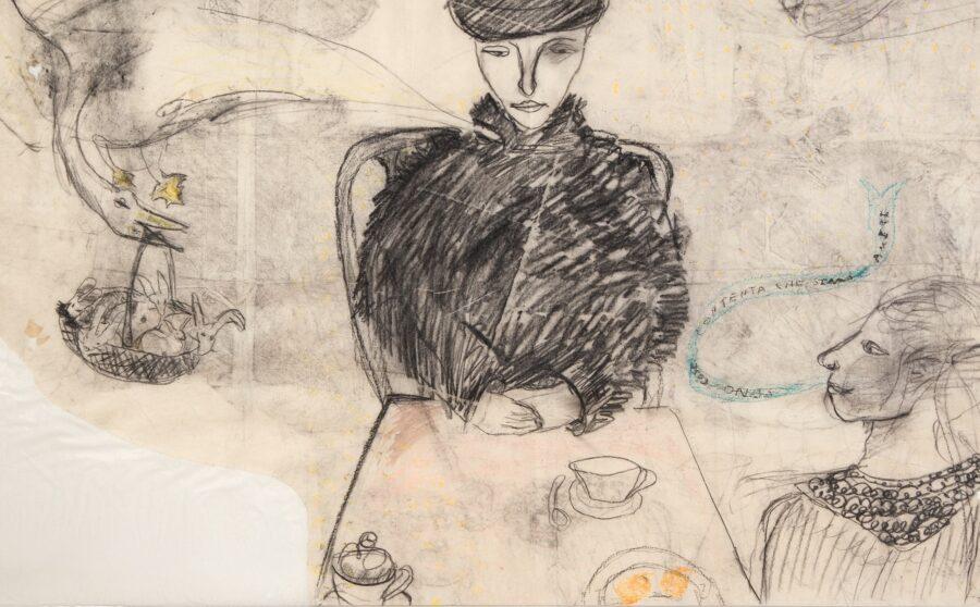 Il disegno di Francesca Woodman - Courtesy Image Sabina Mirri