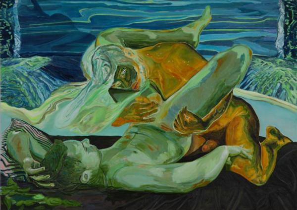 Maurizio Bongiovanni, Untitled, 2020, oil on canvas, 140x100cm