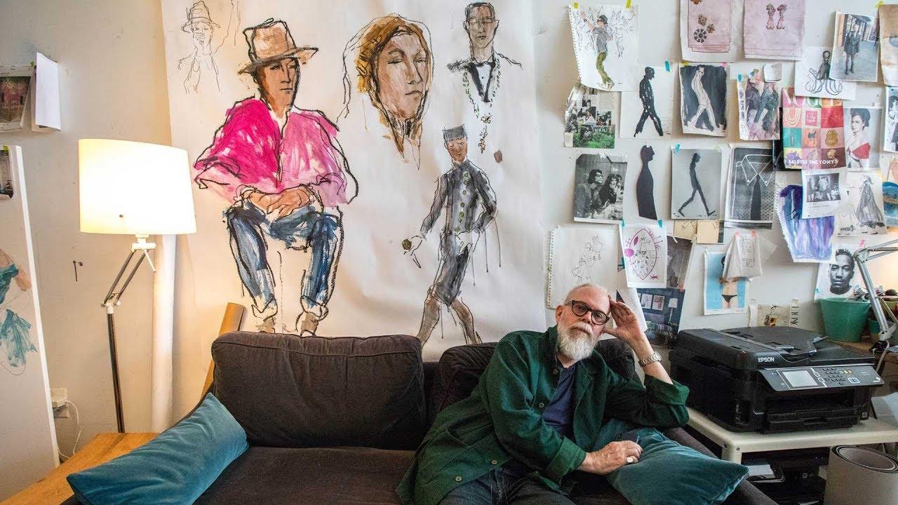La moda illustrata: visita allo studio di Richard Haines