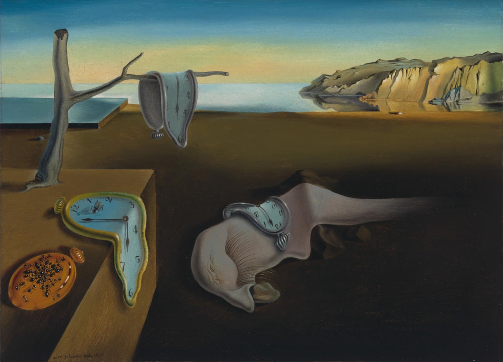 La persistenza della memoria di Dalì per il live drawing della Galleria Nazionale dell'Umbria