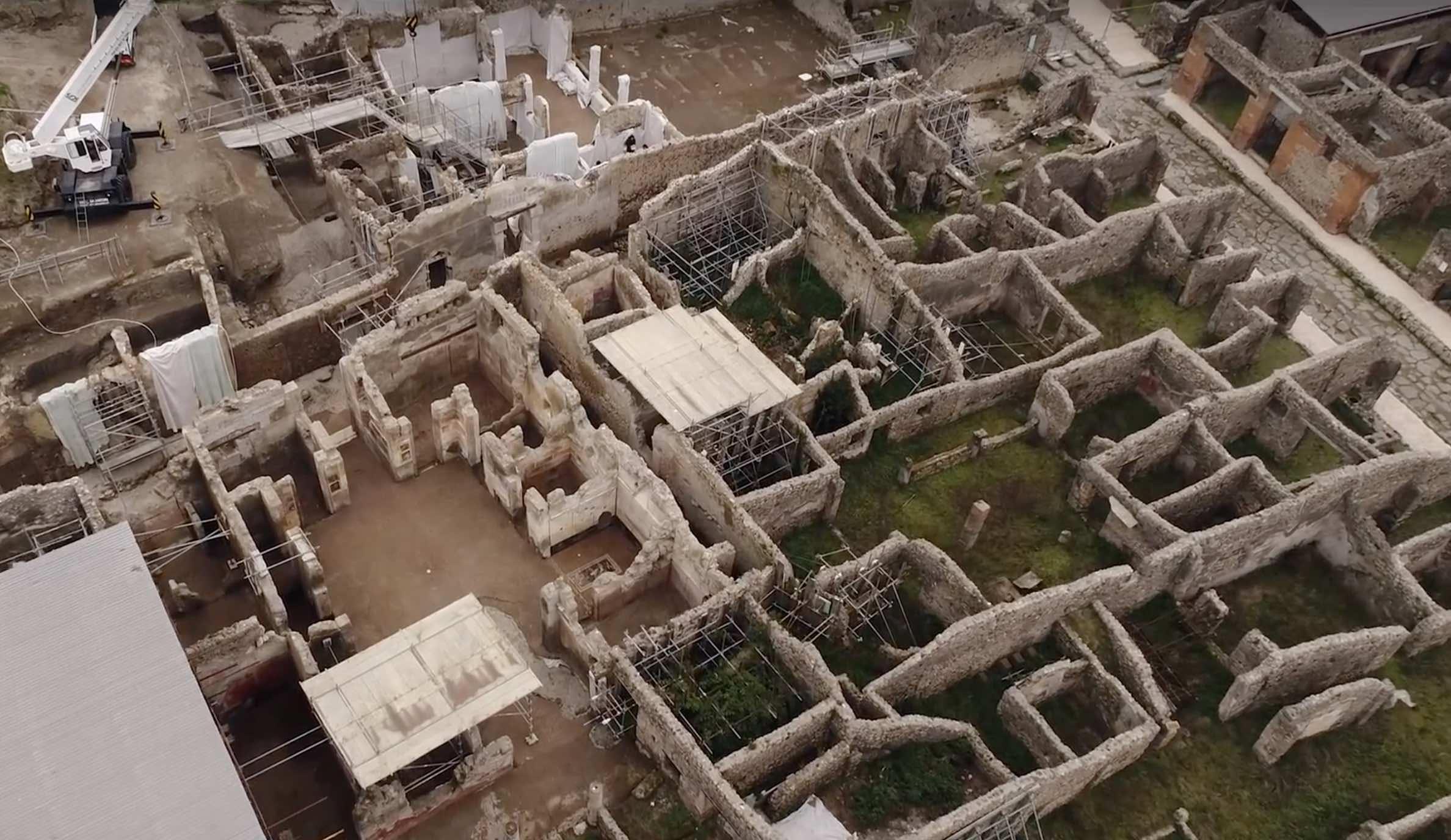 Nuovi scavi di Pompei: il tour virtuale accompagnato dal direttore Massimo Osanna