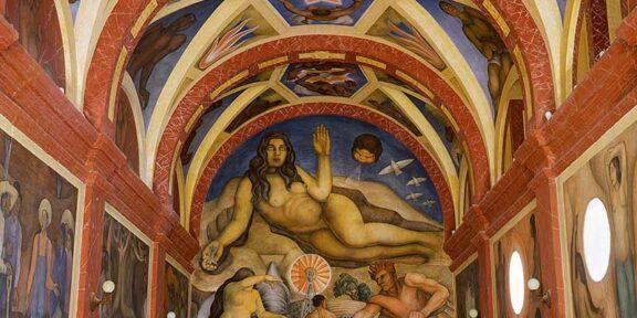 Diego Rivera, Cappella di Chapingo
