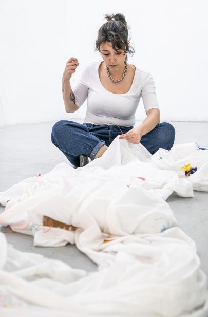 Ruben Montini, Questo Anonimato E' Sovversivo, 2017 - ongoing. (Spanish stop at Cruce Arte Y Pensamiento, Madrid, 2020). ph.Ela Bialkowska, OKNOstudio. Courtesy of the artist and Prometeo Gallery, Milan / Lucca