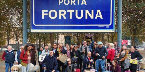 Alessandro bulgini Porta Fortuna, 2017