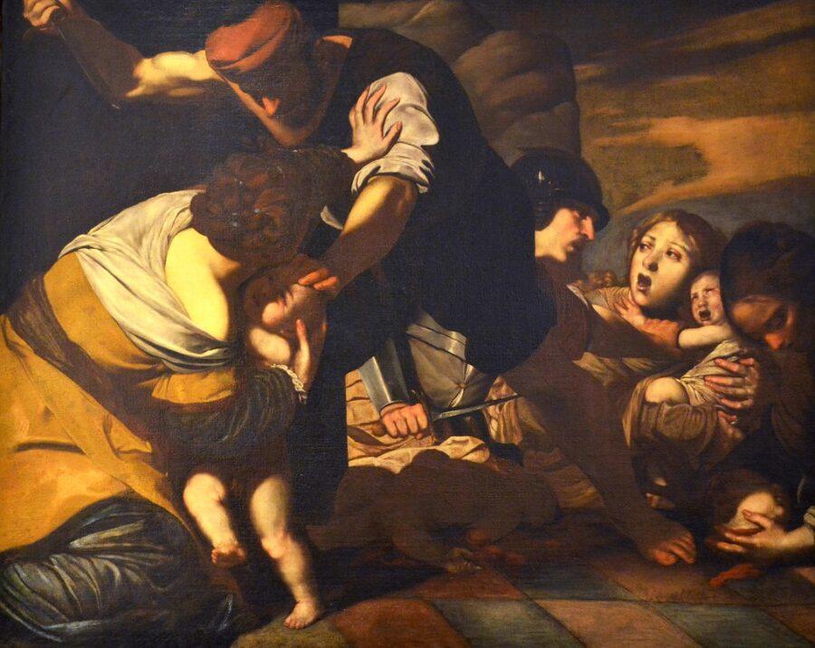 La strage degli innocenti, Massimo Stanzione