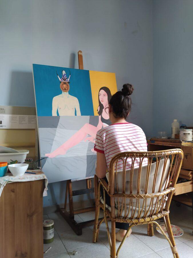 Irene Balia in studio