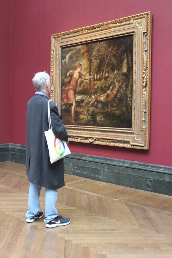 10.Visitatore davanti alla Morte di Atteone, Tiziano, Love Desire Death, National Gallery, Londra,16 marzo - 14 giugno 2020
