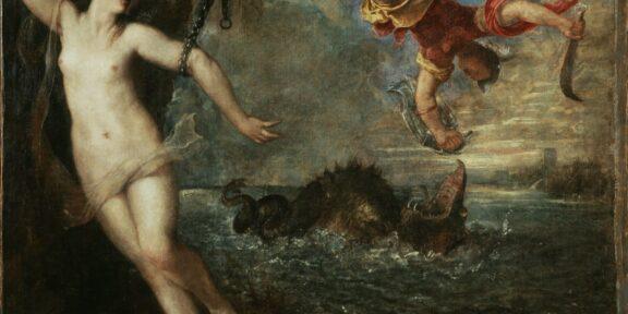 2. Tiziano, Perseo e Andromeda, 1554-1556, olio su tela, 175 x 189.5 cm, Wallace Collection, Londra
