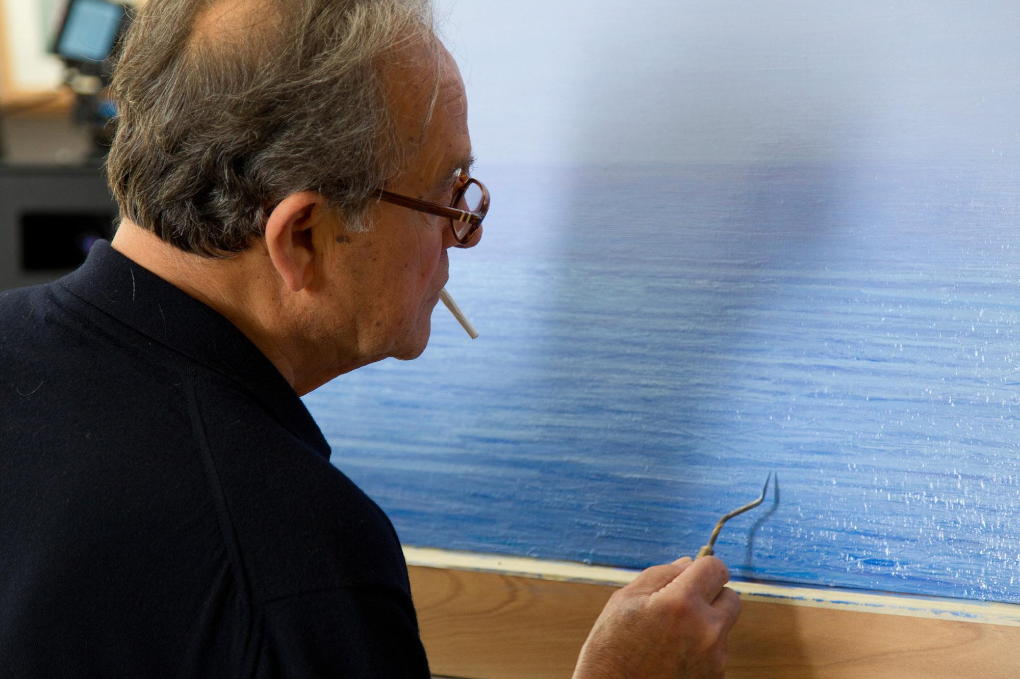 Artisti millennials e l'infinito di Piero Guccione. L'Art Night di Rai 5