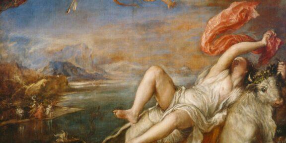 3. Tiziano, Ratto di Europa, 1560-1562, olio su tela, 175 x 189.5 cm, Isabella Stewart Gardner Museum, Boston