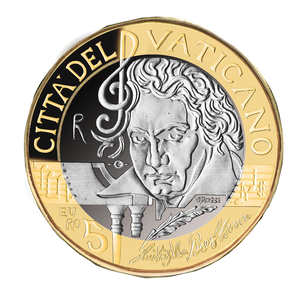 Da Giovanni Paolo II a Beethoven: le monete celebrative del Vaticano