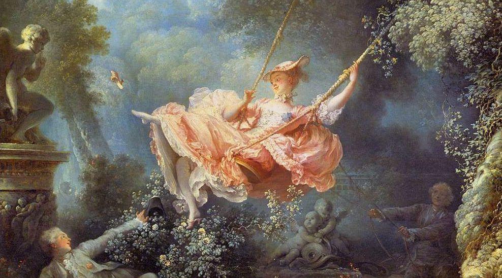 """Malizia e joie de vivre: tutto quello che c'è da sapere su """"L'altalena"""" di Fragonard"""