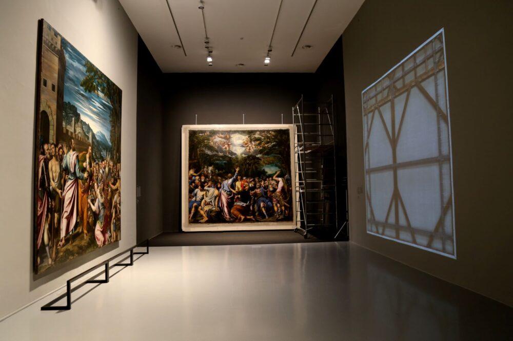 Accademia Carrara_Tiziano_e_Caravaggio_in_Peterzano_ph adicorbetta 2