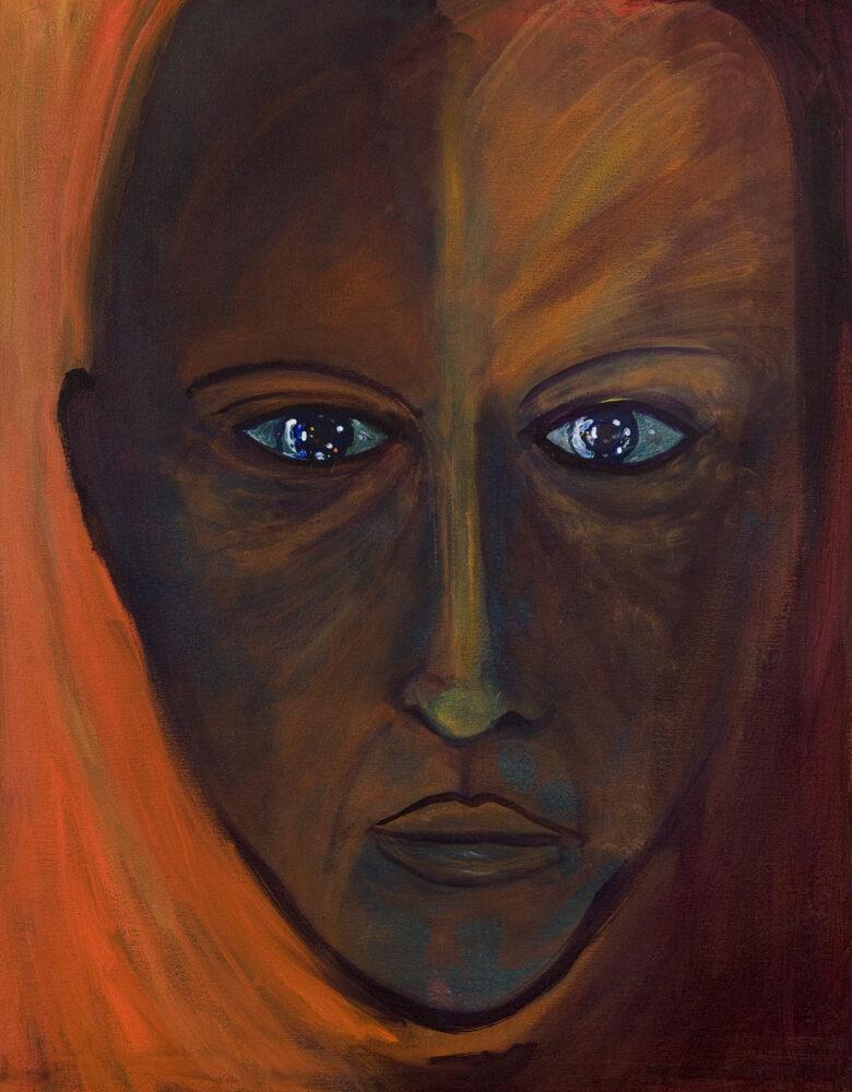 Anthony Hopkins, Tony (Self-Portrait), Courtesy the artist