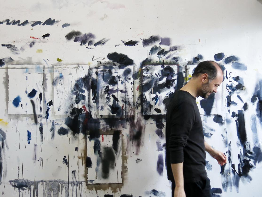 Arte balsamo della psiche. La quarantena degli artisti, Alessandro Scarabello
