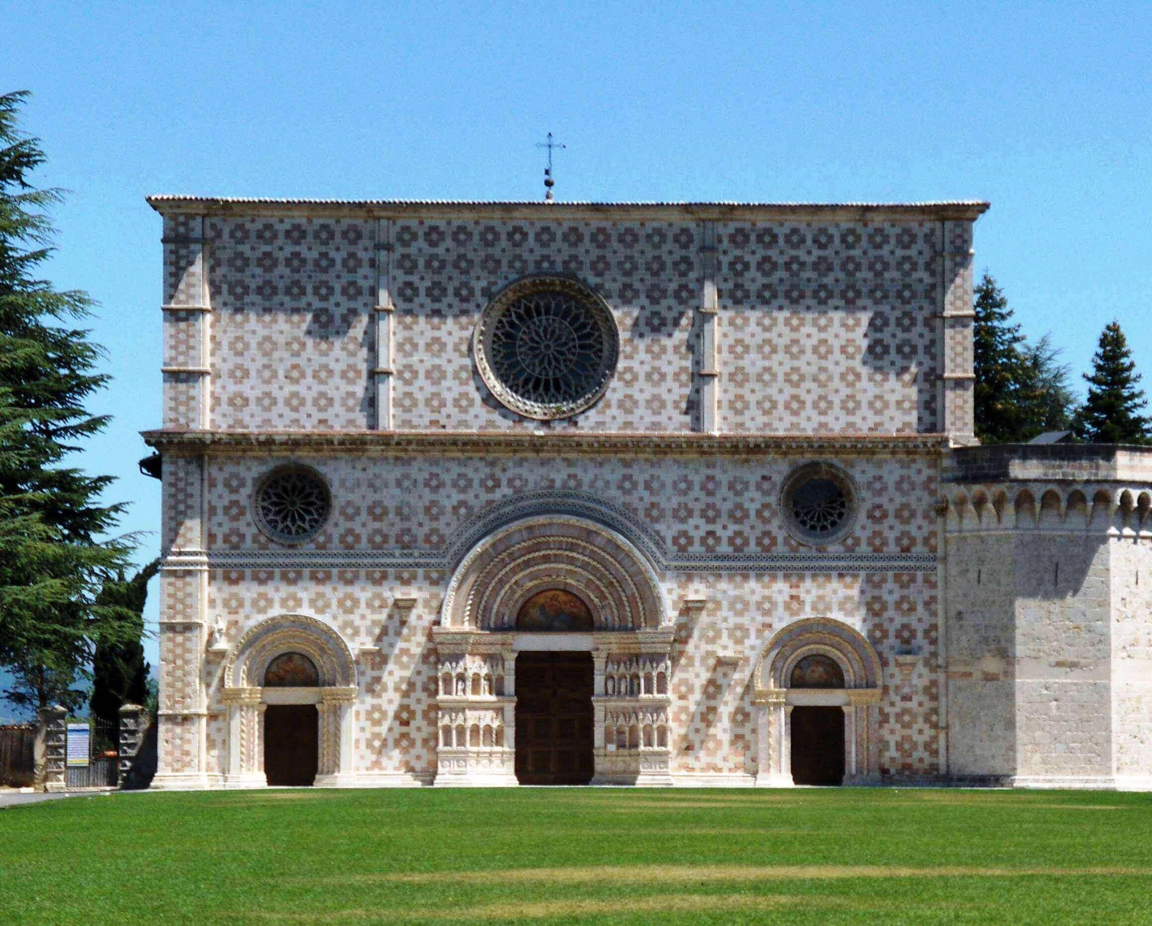 La meravigliosa Basilica di Santa Maria di Collemaggio nell'European Heritage Award per la Conservazione