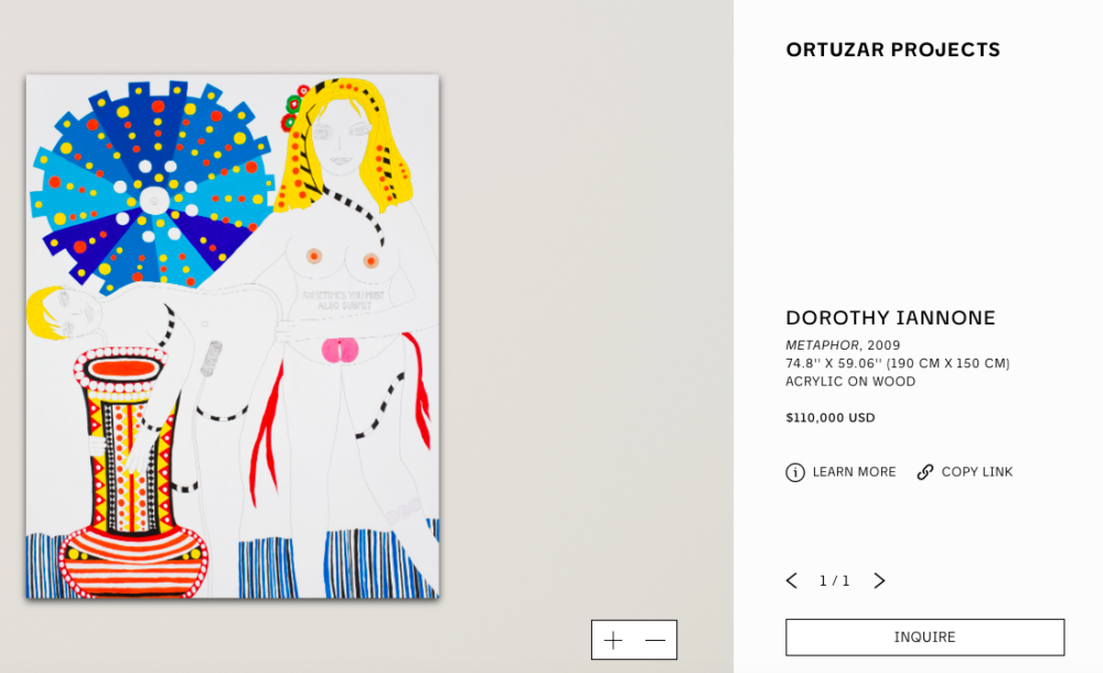 ORTUZAR PROJECTS – DOROTHY IANNONE